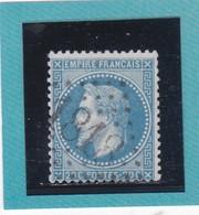 N° 29 B  GC  1818  HYERES  /  VAR  - REF 14616 - 1863-1870 Napoleon III Gelauwerd
