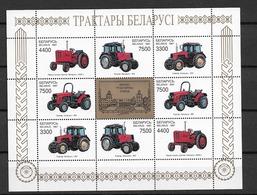 1997 MNH Belarus, Weissrusland, Mi 242-5, Sheet, Postfris** - Belarus