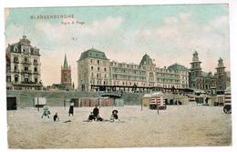 Blankenberge, Blankenberghe, Digue Et Plage (pk52787) - Blankenberge