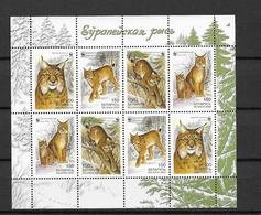 2000 MNH Belarus, Weissrusland, Mi 373-6 Sheet, Postfris** - Wit-Rusland