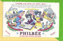 BUVARD & Blotting Paper :Pain D'Epices PHILBEE Ami Sur Sa Peniche - Gingerbread