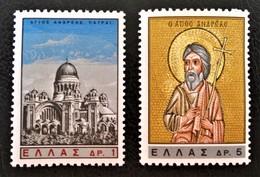RESTITUTION DU CHEF DE SAINT ANDRE 1965 - NEUFS ** - YT 873/74 - MI 895/96 - Greece
