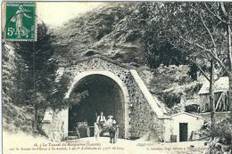 Lozère : St André De Valborgne, Environs, Reproduction Sur Papier-Photo, Le Tunnel De Marquairés... - France
