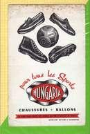 BUVARD & Blotting Paper : Chaussures Ballons HUNGARIA - Chaussures