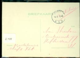 MILITAIR * VELDPOST HANDGESCHREVEN BRIEFKAART Uit 1940  Naar ROTTERDAM     (11.499) - Periode 1891-1948 (Wilhelmina)