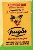 BUVARD & Blotting Paper : Verveine Tilleul PAGES - Liqueur & Bière