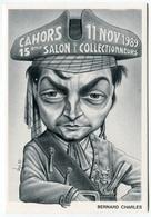VEYRI - CAHORS Carte Pirate - 1989 - Bernard CHARLES Député-Maire - Voir Scan - Veyri, Bernard