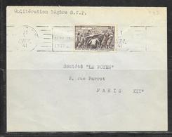 LOT 1812274 - N° 497 SUR LETTRE DE PARIS DU 21/04/41 POUR PARIS - Poststempel (Briefe)