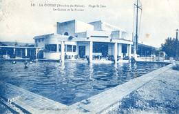 83 - La Ciotat - Plage Saint Jean - Le Casino Et La Piscine - Non Classés