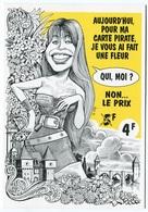 VEYRI - CAHORS Carte Pirate - 1995 - Claudia SCHIFFLEUR  - Voir Scan - Veyri, Bernard