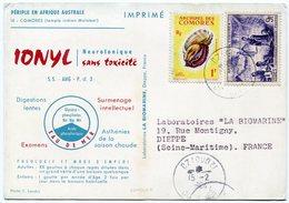 Comores - Postcard - Carte Postale - Comoros