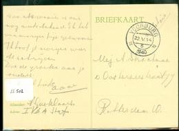MILITAIR * VELDPOST HANDGESCHREVEN BRIEFKAART Uit 1940 Van VOORBURG  Naar ROTTERDAM   (11.502) - Periode 1891-1948 (Wilhelmina)