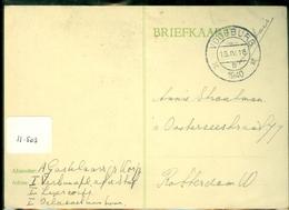MILITAIR * VELDPOST HANDGESCHREVEN BRIEFKAART Uit 1940 Van VOORBURG  Naar ROTTERDAM   (11.503) - Brieven En Documenten