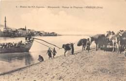 Iracq / 07 - Passage De L' Euphrate à Bérédjik - Iraq