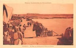 Iracq / 15 - Mossoul - Le Pont De Bateaux Et La Plaine De Ninive - Iraq