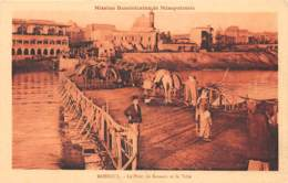 Iracq / 21 - Mossoul - Le Pont De Bateaux - Iraq