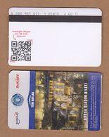 AC - SUBWAY SINGLE RIDE METROCARD, BUS CARD #35 BURSA, TURKEY - Titres De Transport