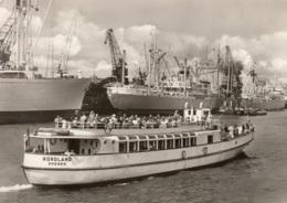 """Frachtschiffe Und """"Nordland"""" Bei Hafenrundfahrt Bremen, Ungelaufen - Commerce"""