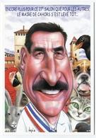VEYRI - CAHORS Carte Pirate - 2001 - Michel ROUMEGOUX Maire  - Voir Scan - Veyri, Bernard