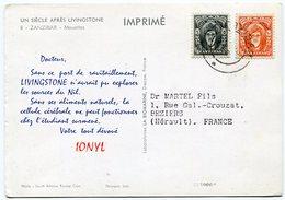 Zanzibar - Postcard - Carte Postale - Zanzibar (1963-1968)