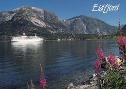 1 AK Norwegen * Der Eidfjord - Ein Arm Des Hardangerfjords * - Norwegen
