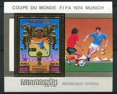 Rep Khmère ** Blocs  ND - Coupe Du Monde FIFA 1974 - Kampuchea