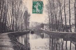 D77  MORET  Le Canal - Moret Sur Loing