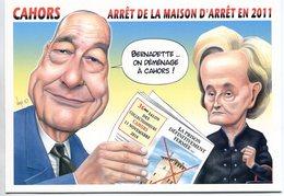 VEYRI - CAHORS Carte Pirate - 2010 - Jacques Et Bernadette CHIRAC - Voir Scan - Veyri, Bernard