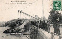 BIARRITZ-CANOT DE SAUVETAGE-BIARRITZ PITTORESQUE- - Biarritz