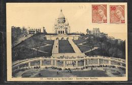 LOT 1812281 - N° 477 SUR CPDE PARIS POUR CHAUMONT - 1921-1960: Modern Period