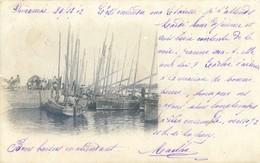 """85 - Carte Photo Précurseur - Saint Gilles Croix De Vie - Le Port - Bateau : """"La Mignone """" SG496 - Saint Gilles Croix De Vie"""