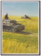 Dt-Reich (007411) Propagandakarte, Panzer Machen Weltgeschichte, ...... Der Panzer Am Feind, Ungebraucht - Deutschland