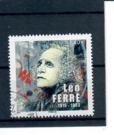 Yt 5080 Leo Ferre Cachet Rond - France