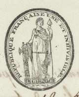 Épinal An 11 – 3.12.1802 ''Histoire De Prison'' - Documentos Históricos