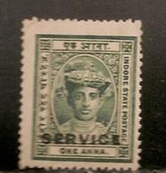 INDE  SERVICE OBLITERE - Inde