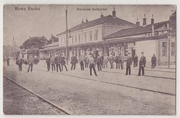 4601 Ukraine Poland Rawa Ruska Lwow Region Railway Station - Ukraine