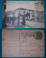 Cartolina Ponte A Moriano (Lucca) - Borgata A Sinistra Del Serchio. Viaggiata 1916 - Lucca