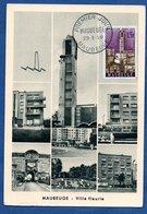 Carte Premier Jour  /  Maubeuge / Ville Fleurie / 2-3-58 - Maximum Cards