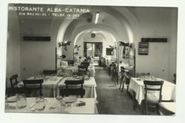 RISTORANTE ALBA - CATANIA - SU CARTA FERRANIA  - NV FP - Catania