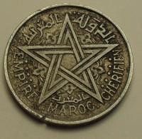 1951 - Maroc - Morocco - 1370 - 2 FRANCS, Empire Chérifien, Mohammed V - Y 47 - Maroc