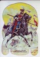 - Fromages Mère Picon - Soldats De L'Empire - N°38. Chevau-léger Lancier Polonais 1808 - Objet Publicitaire En Métal - - Publicité