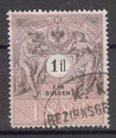 Austria, Austrohungarian Empire, Very Nice Revenue Stamp, 1 Gulden - Usados