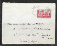 LOT 1812285 - N° 449 SUR LETTRE DE SAINT JEAN DE COLE POUR PARIS - Poststempel (Briefe)