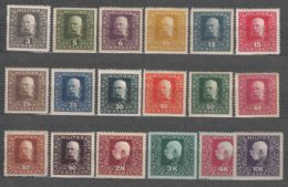 Austria Occupation Of Bosnia 1916 Mi#99-116 Mint Hinged - 1850-1918 Empire