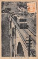 Japon - Divers / 47 - Train - Belle Oblitération - Japon