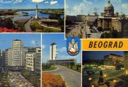 Beograd - 1101 - Formato Grande Viaggiata Mancante Di Affrancatura – E 9 - Jugoslavia