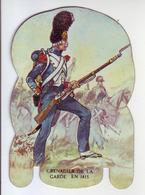 - Fromages Mère Picon - Soldats De L'Empire - N°47. Grenadier De La Garde 1815 - Objet Publicitaire En Métal - - Non Classificati