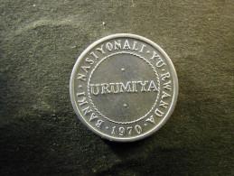 Rwanda  1/2 Franc 1970 - Rwanda