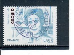 Yt 5079 Fançoise Giroud-joli Cachet Rond - France
