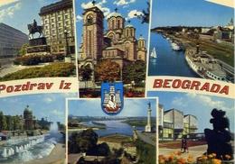 Pozdrav Iz Beograda - 1092 - Formato Grande Viaggiata Mancante Di Affrancatura – E 9 - Jugoslavia